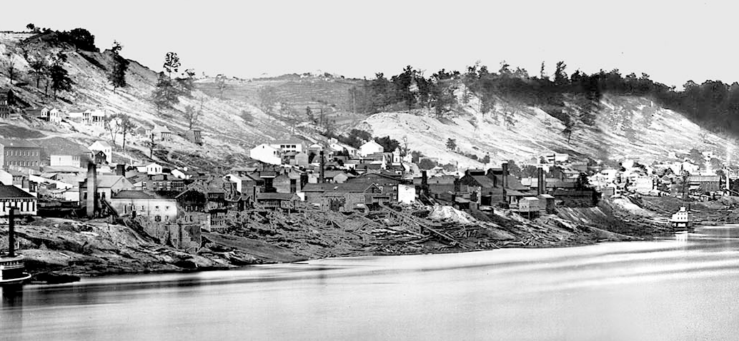 Fulton as it appears in The F&P Daguerreotypes of September 24, 1848, Charles Fontayne and William S. Porter. Courtesy of Cincinnati Public Library (Inland Rivers Collection).