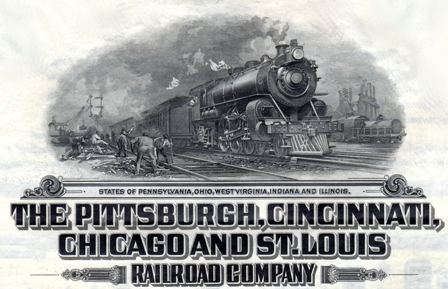 The Pittsburgh, Cincinnati, Chicago and St. Louis Railroad Company upgraded the Oasis line several times.
